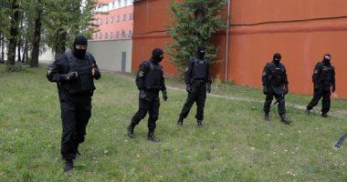 تشديد أمنى بمحيط مراكز احتجاز المحتجين على نتائج الانتخابات الرئاسية فى بيلاروسيا