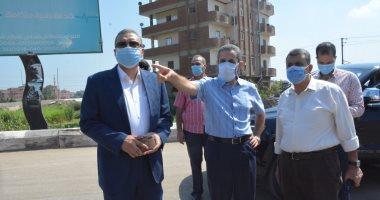 محافظ الغربية في جولة مفاجئة لمركز طنطا ويوجه برفع التراكمات والإشغالات