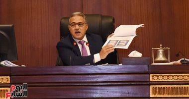 البرلمان يبحث مشكلات تطبيق قانون مخالفات البناء بحضور محافظى الفيوم والقليوبية