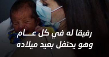"""معجزة طفل.. ولد لحظة انفجار بيروت """"فيديو"""""""
