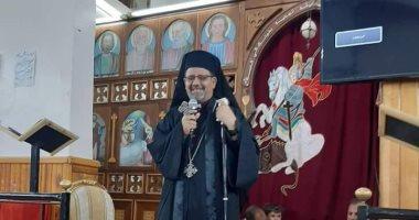 """مطران الكاثوليك فى أبو قرقاص يترأس """"الرياضة الروحية"""" بمناسبة صيام العذراء"""
