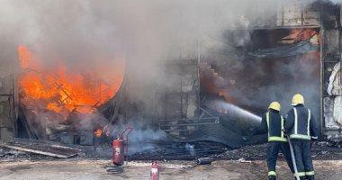حريق بالمنطقة العسكرية في عين جفال التونسية