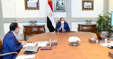 الرئيس عبد الفتاح السيسي - الدكتور مصطفي مدبولى  - ارشيفية