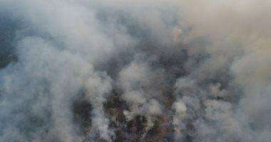 تجدد الحرائق فى غابات الأمازون بولاية روندونيا البرازيلية