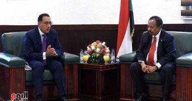 مدبولى من الخرطوم: الرئيس السيسي كلفنا بتقديم كل الدعم لأشقائنا فى السودان