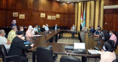 نائب رئيس جامعة طنطا يؤكد على ضرورة إطلاق القوافل الطبية لخدمة قرى الغربية