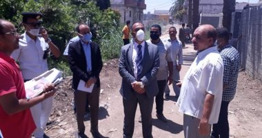 نائب محافظ المنيا يتابع موقف عدد من المبانى المخالفة بسمالوط