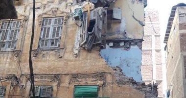 """""""التضامن الاجتماعى"""" بالإسكندرية: بحث حالة لمتضررى عقار الجمرك لصرف التعويضات"""