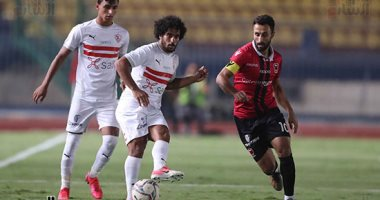 نادي مصر يسجل الهدف الأول بشباك الزمالك فى الدقيقة 85