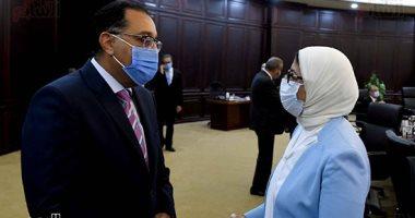 وزيرة الصحة تؤكد تصميم دليل استرشادى لمكافحة الأمراض المعدية بالتنسيق مع التربية والتعليم