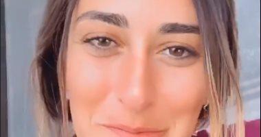 """أمينة خليل تروج لفيلمها الجديد """"توأم روحى"""" بفيديو على انستجرام"""