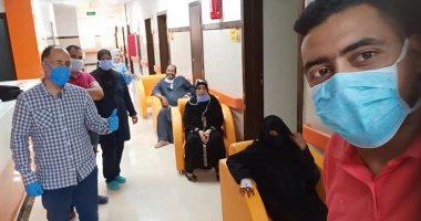 مستشفى العديسات للعزل بالأقصر تعلن خروج 9 حالات شفاء جديد من كورونا