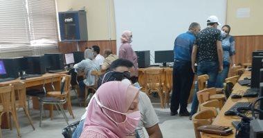 إجراءات احترازية لاستقبال طلاب تنسيق الثانوية العامة بجامعة بورسعيد