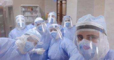 الجيش الأبيض.. فريق تمريض جامعة طنطا على خط المواجهة ضد كورونا