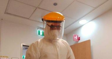 """الجيش الأبيض.. """"محمد"""" ممرض بأحد مستشفيات العزل فى مواجهة فيروس كورونا"""