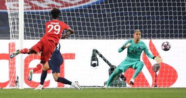 """باريس سان جيرمان ضد البايرن.. كومان يفتتح أهداف البافاري بعد 59 دقيقة """"فيديو"""""""