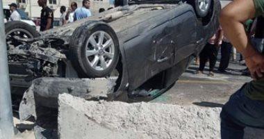 مصرع سائق وإصابة 3 مواطنين فى حوادث متفرقة بمدينة إسنا بالأقصر