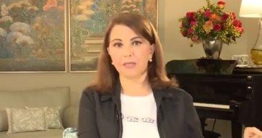 ماجدة الرومى فى رسالة مؤثرة لوطنها: مع شعب لبنان للموت بنفس الخط.. فيديو