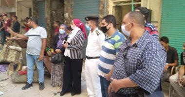 أمن الإسكندرية يشن حملة مكبرة للقضاء على ظاهرة النباشين.. صور