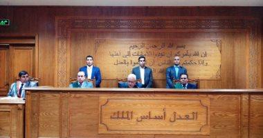 تأجيل محاكمة متهم بقتل مقاول فى منطقة السلام لـ 15 نوفمبر المقبل