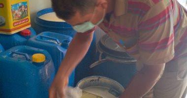 إعدام أغذية فاسدة وغلق 8 منشآت غذائية لوجود خطر داهم على الصحة بالشرقية (صور)