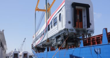 السكة الحديد تعلن وصول دفعة جديدة من العربات الروسية تضم 22 عربة غدا