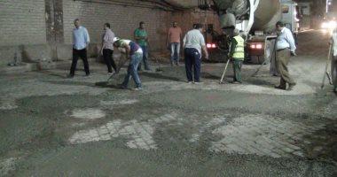 الطرق والكباري تبدأ إصلاح نفق الدلجمون الرئيسي وتحويل مسار الطريق بالغربية