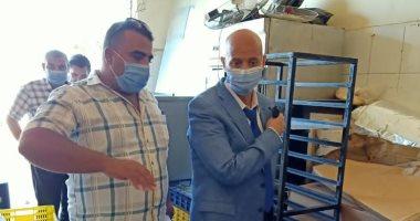 إعدام طن أغذية فاسدة وغلق مصنع حلويات بالقنايات