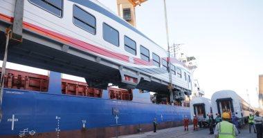 عربات السكة الحديد الجديدة  - أرشيفية