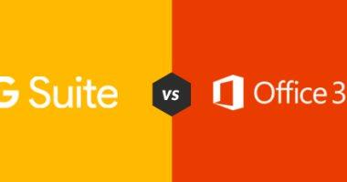 إيه الفرق.. مقارنة بين G Suite vs Microsoft 365 لمعرفة الأفضل