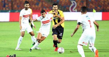 ملخص وأهداف مباراة الزمالك والمقاولون العرب فى الجولة الـ 22 للدورى