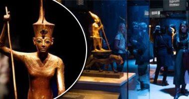 س وج.. متى تنقل مقتنيات الفرعون الذهبى توت عنخ آمون إلى المتحف الكبير؟