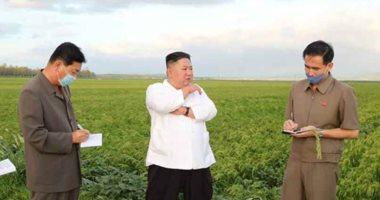 الزعيم الكورى الشمالى يزور المنطقة المنكوبة بسبب إعصار بافى
