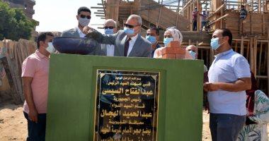 محافظ القليوبية يفتتح ويضع حجر أساس لـ13 مشروعا خدميا بـ769 مليون جنيه.. صور
