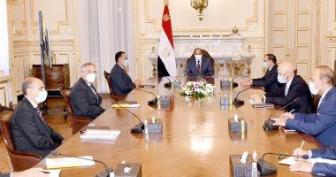 """الرئيس يوجه بتكثيف التعاون مع """"إينى"""" الإيطالية فى مجالى التنقيب والإنتاج بمصر"""