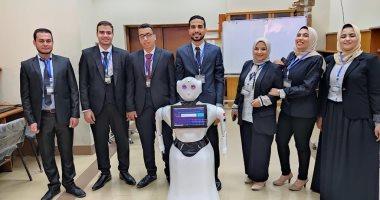 روبوت متعدد المهام مشروع تخرج يحكى عنه طلاب هندسة كفر الشيخ