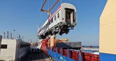 عربات السكة الحديد الروسية الجديدة