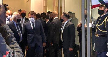 فيديو.. ما السبب الذى أغضب ماكرون بختام زيارته إلى لبنان
