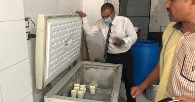 محافظ المنيا : ضبط مصنع لمنتجات الألبان غير مرخص.. صور