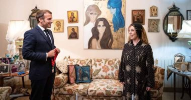 مايا دياب بعد زيارة ماكرون لفيروز: بنحبك سيدة البلاد
