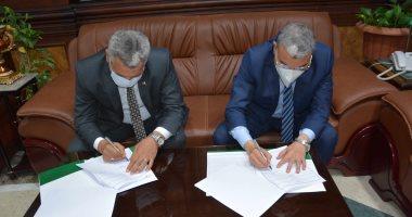 محافظ المنيا يوقع مذكرة تفاهم مع هيئة تنمية الصعيد لتشغيل 3 مشروعات إنتاجية