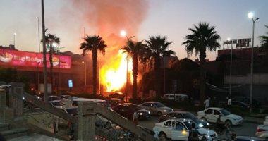 الحماية المدنية بالإسكندرية تسيطر على حريق نشب فى حرم السكة الحديد
