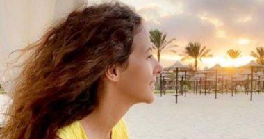 دنيا سمير غانم فى إطلالة مبهجة بعدسة صديقتها ميساء مغربى