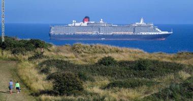 """فى زمن كورونا.. سفن """"الأشباح"""" العملاقة تتحول إلى مزار سياحى فى بريطانيا"""