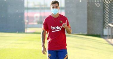 كوتينيو ينهى عطلته مبكرا للمشاركة فى تدريبات برشلونة