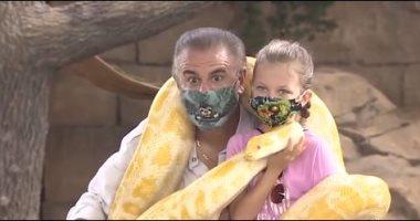 حديقة حيوان أمريكية تفتح أبوابها لتحقيق أمنية طفلة مريضة بالسرطان.. صور