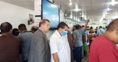 محافظ كفر الشيخ : توافد كبير من راغبى التصالح على المراكز التكنولوجية