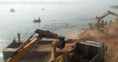 حماية النيل تنفذ 6 قرارات إزالة بأسيوط على مساحة 1280 مترا