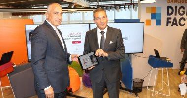 محافظ البنك المركزي المصري يزور أول قطاع متكامل للتحول الرقمي المصرفي ببنك مصر