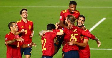 كل أهداف الأحد.. رباعية إسبانيا وتعادل ألمانيا بدورى الأمم وفوز صعب للزمالك